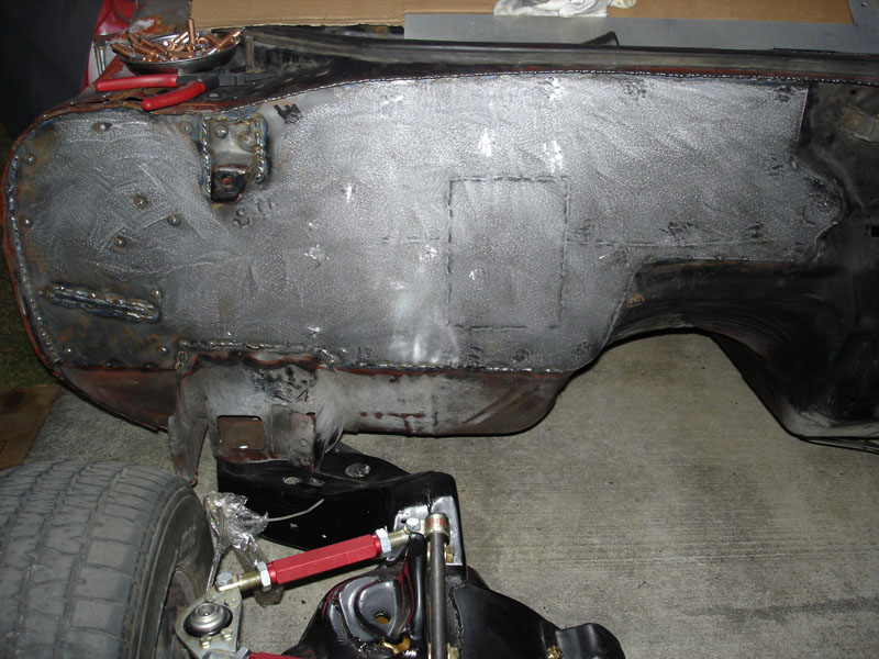Smoothed Firewall Sheetmetal Chevelle Tech